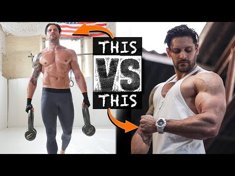 FIGHTER Vs BODYBUILDER WORKOUT CHALLENGE   This Might Surprise You!