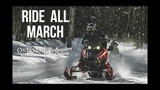 Snowmobiling, Ontario