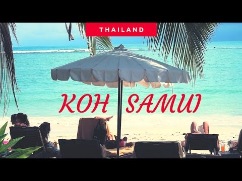 KOH SAMUI ISLAND, TOP PARADISE IN THAILAND (TRAILER)