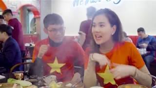 Cùng MC thời tiết Mai Ngọc cổ vũ đội tuyển Việt Nam | Thời tiết vui