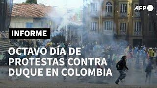 Aumenta presión contra Duque en Colombia tras una semana de protestas | AFP
