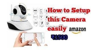 Hindi version of wifi smart camera camhi keye configuration