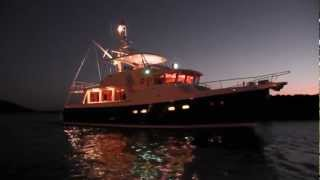 Selene 57 Trawler Yacht cruising the Pacific Northwest