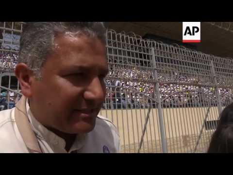 Security, reaction, ahead of papal mass in Cairo