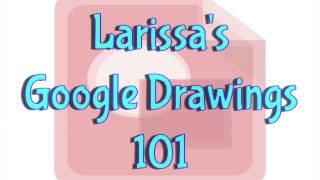 Google Drawings 101 - Intro & Shapes