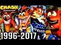 Crash Bandicoot ALL INTROS 1996-2017 (PS1, PS2, PS4)