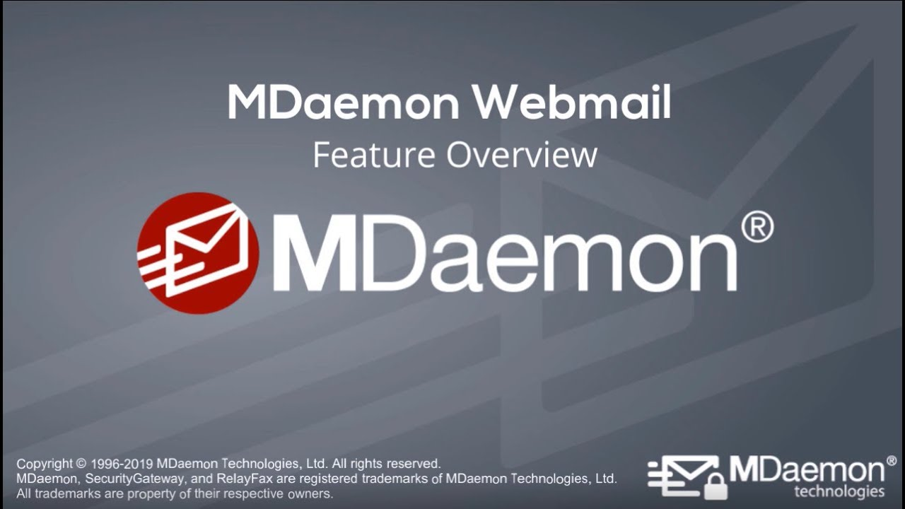 MDaemon Webmail Features| Email Server