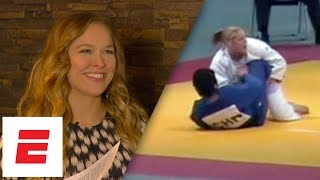 UFC Hall of Famer Ronda Rousey breaks down tape of three early fights | ESPN Archives