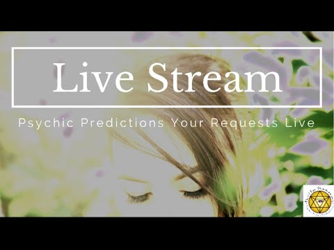 Live Part 2: Psychic Predictions Iran Deal Black Cube and Trump Hawaii and More!