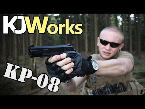 KJW KP-08 Airsoft / Softair Test - Review GBB/C02 Pistole GsPAirsoft