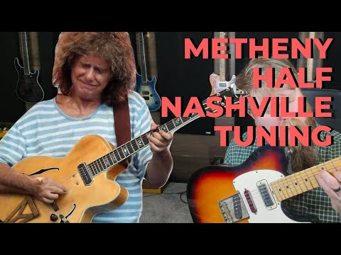 "Pat Metheny's INCREDIBLE ""Half Nashville"" Baritone Tuning"