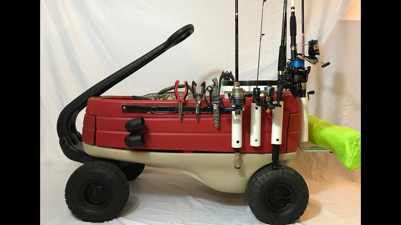 Best diy fishing cart how to youtube for Best fishing cart