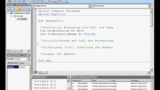 DB0103UE Datenbanken: LE 01 Grundlagen Übung 03 Verzweigungen Case Select
