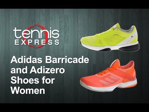 Adidas Barricade and Adizero Shoes for Women | Tennis Express