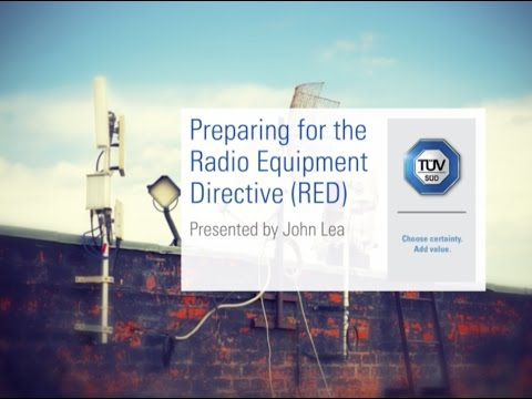 Preparing for the Radio Equipment Directive