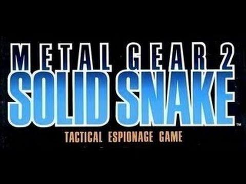 Metal Gear 2: Solid Snake (Big Boss Run)