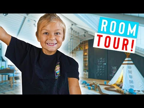 UPDATED NEW HOUSE TOUR! (Caspian's Bedroom) REMODEL REVEAL!!