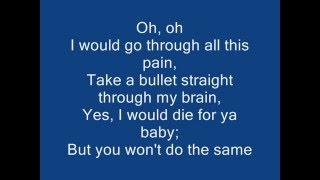 Repeat youtube video Bruno mars - Grenade Lyrics