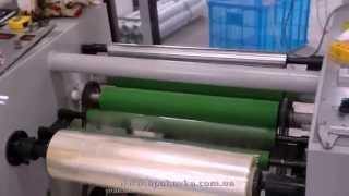 Скотч упаковочный - производство(Процесс производства упаковочного скотча. Клей, нанесенный на скотч, может быть акриловым, основанным на..., 2014-08-13T06:34:54.000Z)