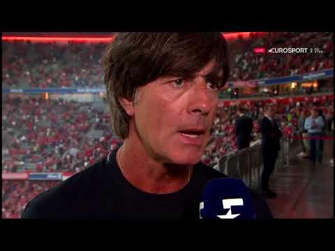 Joachim Löw Halbzeit Interview – Bayern v Leverkusen 2017/18