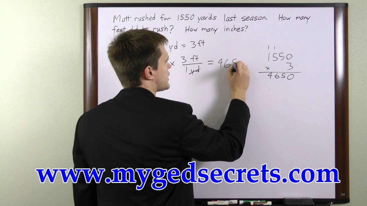 Ged Math Answers