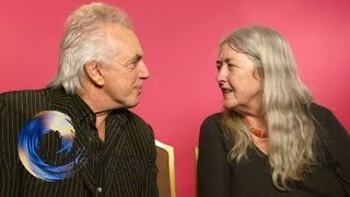Election blind dates: Peter Stringfellow and Mary Beard - BBC News