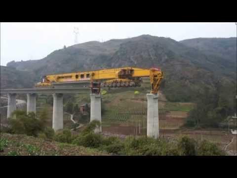 Bridge girder erection Machine: SLJ900
