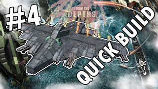 From The Depths Quick Build #4 - Jet Fighter