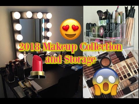 2018 Makeup Collection & Storage