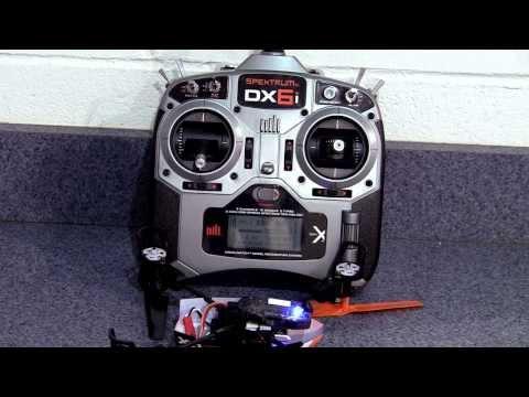 Repeat 350 QX settings for DX6I -Blade 350QX instellingen