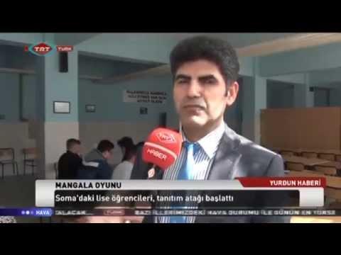 Soma'daki Öğrenciler 'Mangana' Oyununu Öğreniyor. TRT Türk'te...