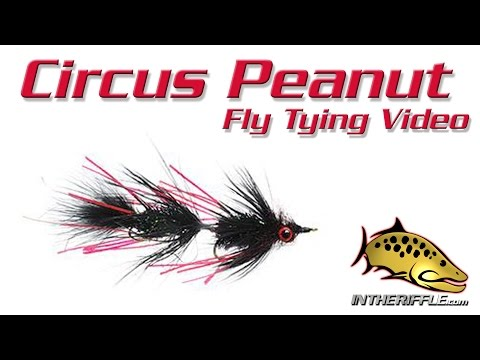 Circus Peanut Articulated Streamer Fly Tying Instructions and How To Tie Tutorial