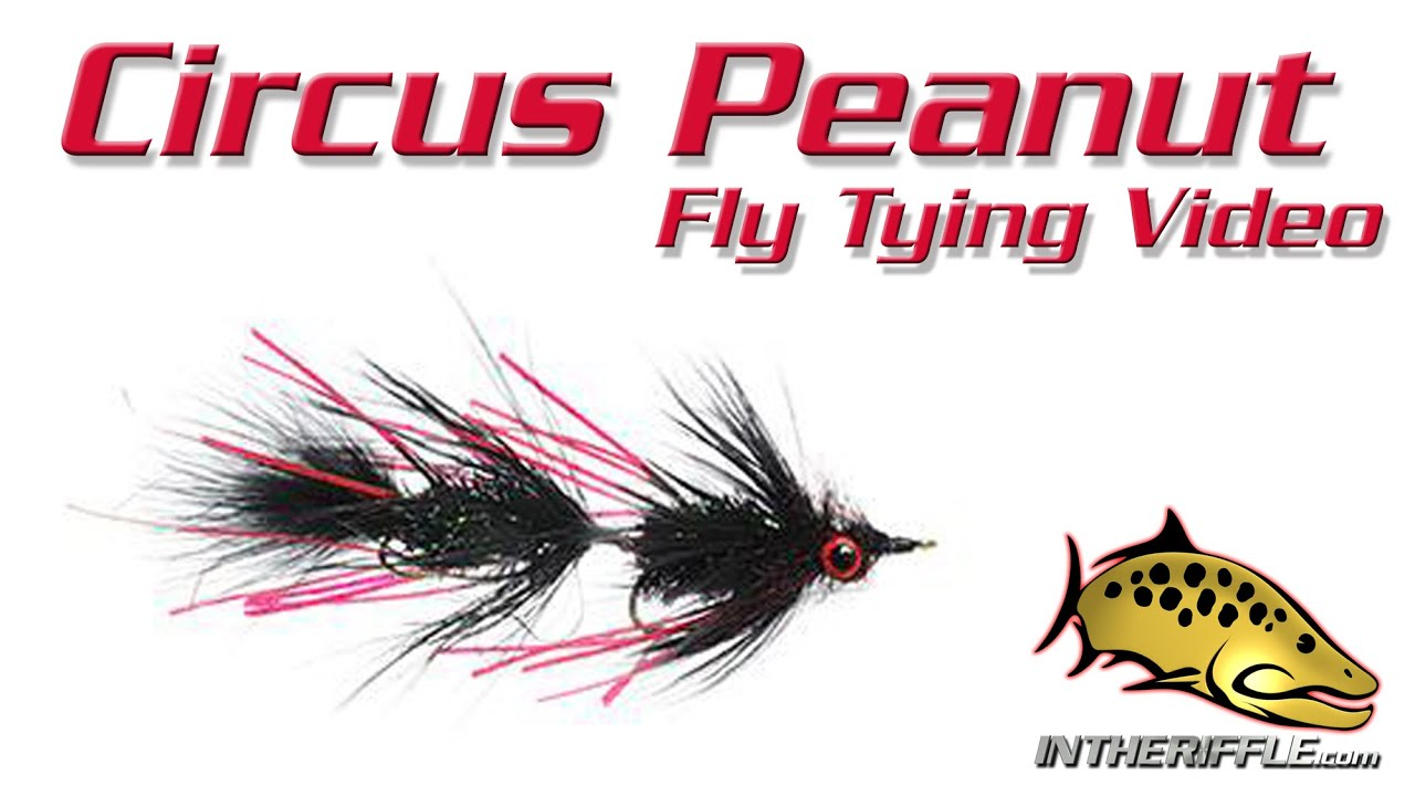 Circus Peanut Articulated Streamer Fly Tying Instructions And How To