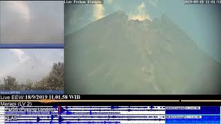 Volcano Merapi - 18/09 10:53 WIB