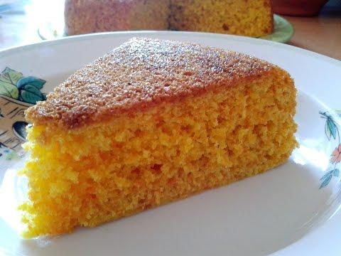 Морковный диетический пирог в мультиварке