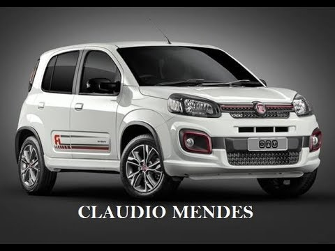 fiat uno 2018 sporting com muitos detalhes youtube. Black Bedroom Furniture Sets. Home Design Ideas