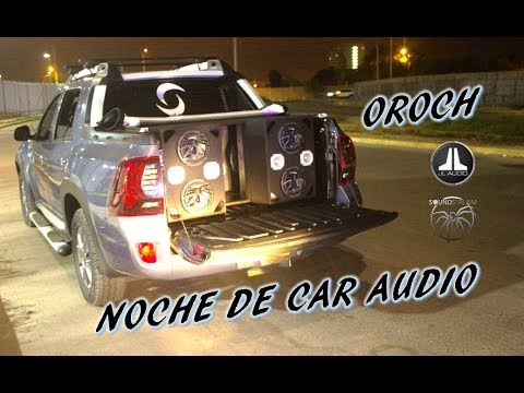 RENAULT OROCH TUNING AUDIO - JL AUDIO - SOUNDSTREAM / CarAudioTeam