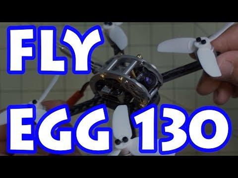 Micro Drones 101 🚁#22⭐ KingKong FLY EGG 130 ⚡🔥👍