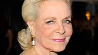 Lauren Bacall has died at the age of 89