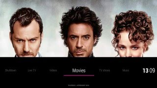 KODI Skin : KOver - TvTunes Video integration