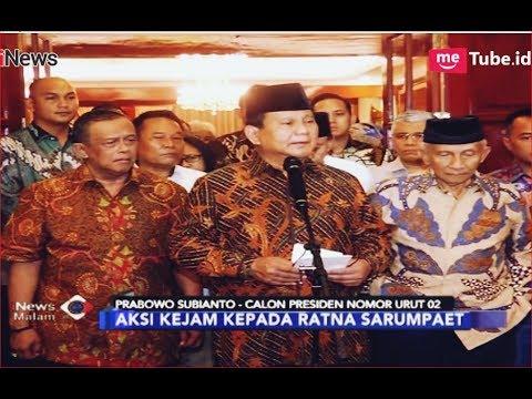 Prabowo Benarkan Kabar Ratna Sarumpaet Dianiaya - iNews Malam 02/10
