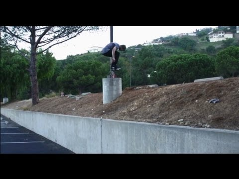 TAYLOR JETT - BACKSIDE FLIP THE CLIFF - BEHIND THE CLIPS -