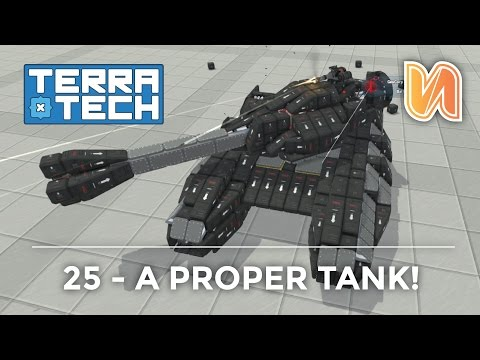 Terra Tech Ep 25 - Tank with Rotating Turret!