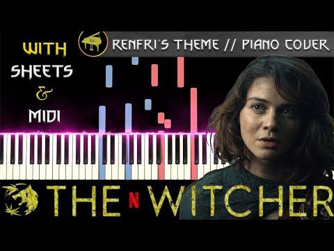 Tomorrow I'll Leave Blaviken For Good (Renfri's Theme) - Synthesia Piano Tutorial + FREE MIDI/SHEETS