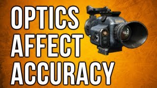 Black Ops 2 In Depth - Optics Affect Accuracy (All Sights Explained)