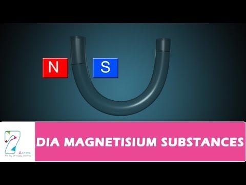 DIA MAGNETIC SUBSTANCES