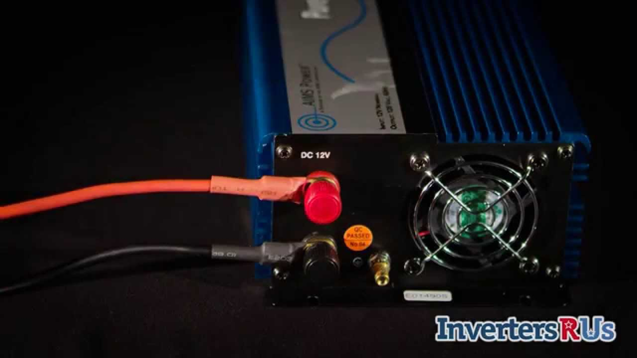 maxresdefault aims power pwri100012s 1000 watt pure sine power inverter youtube  at soozxer.org
