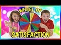 MYSTERY WHEEL OF SATISFACTION | We Are The Davises