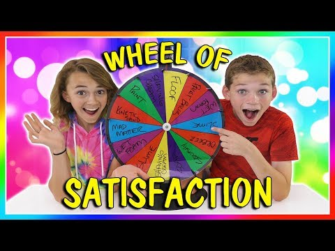 MYSTERY WHEEL OF SATISFACTION  We Are The Davises