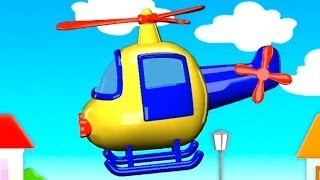 Build and Play - 3D HELICOPTER: Kids Machine Puzzles (Дети построить и узнать)